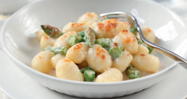 gnocchi con asparagi gratinati