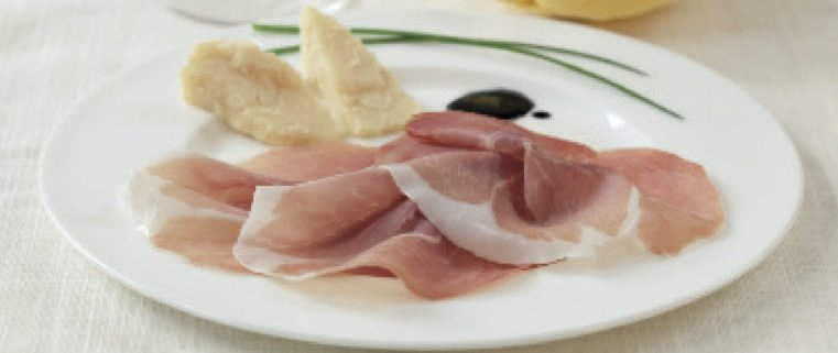 Piatto di Culatello e Parmigiano