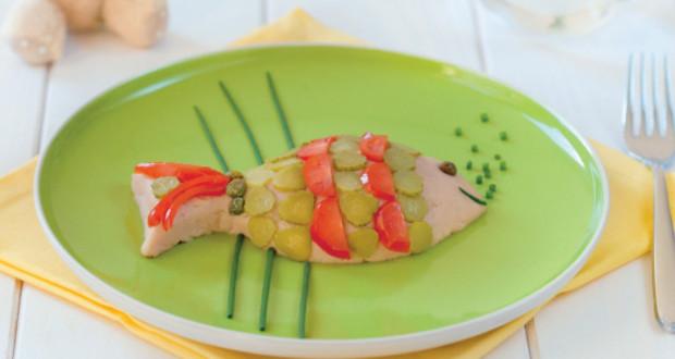 Pesce con tonno e pomodorini - Ricette Semplici