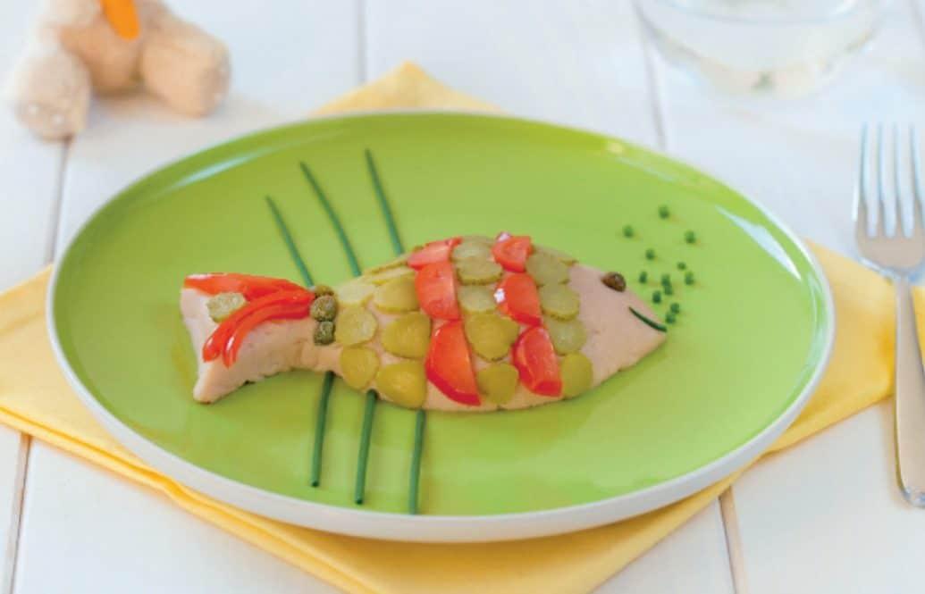 Pesce tonno e pomodorini