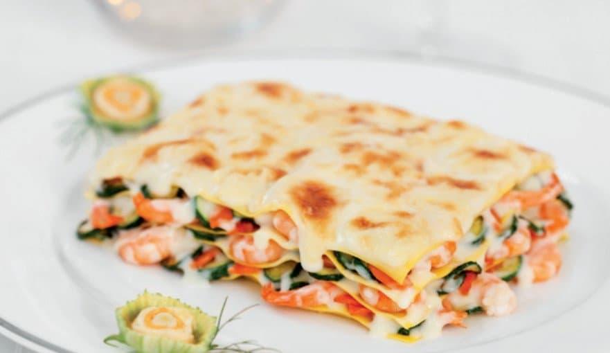 lasagne alla crema di mezzancolle