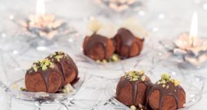 Tartufini di pandoro al cioccolato